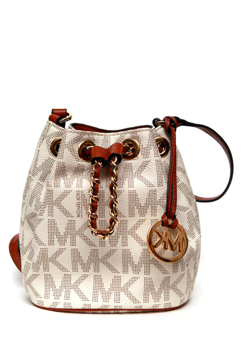 White Monogram Bag