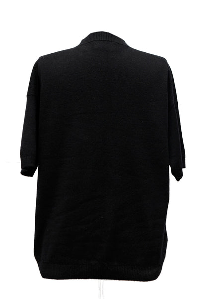 back view of Prada  Black Wool Sweater