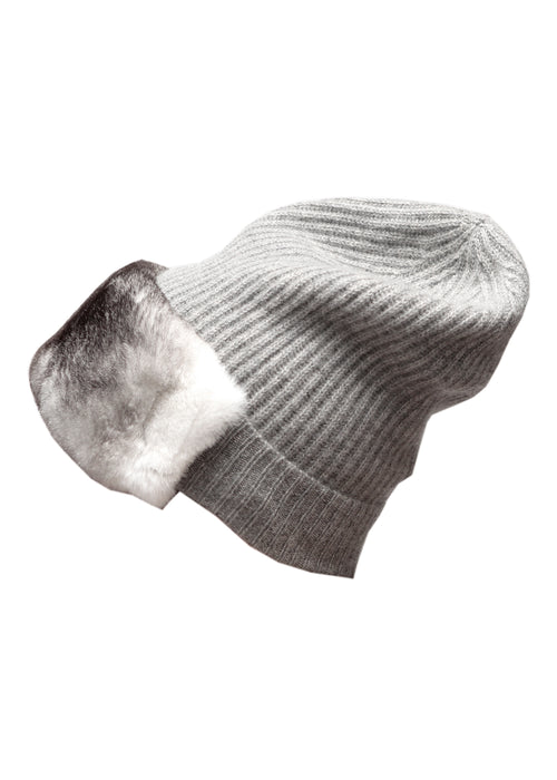 Wool Grey Cap