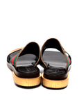 Gucci golden toe flat sandals