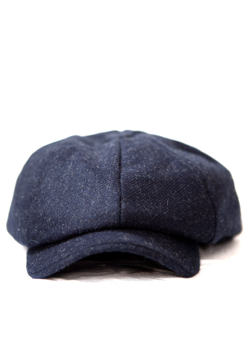 PAPAGCHI dark blue wool  hat