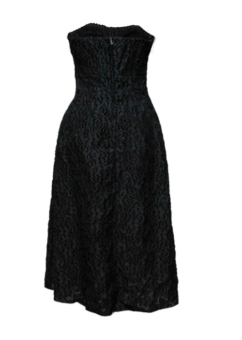 Luxury DOLCE & GABBANA Black Cotton Dress