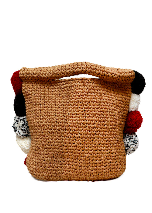 Beige Knitted Bag