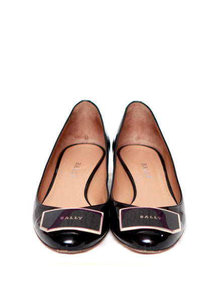 Black Round Shoes