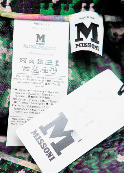 brand tag of MISSONI skirt