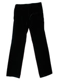 Black Cotton Trousers