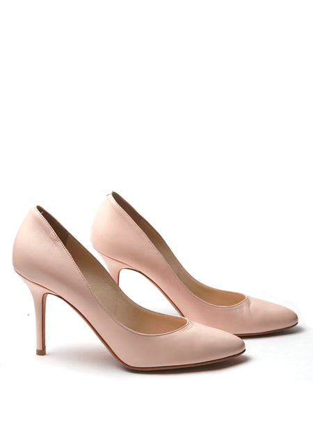 Beige-Pink Pumps