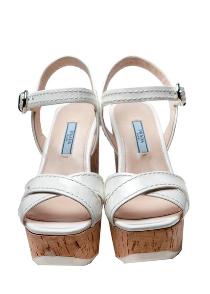 Front view of Sandals from Prada