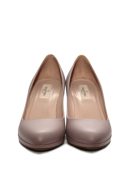 Valentino pale lilac pumps