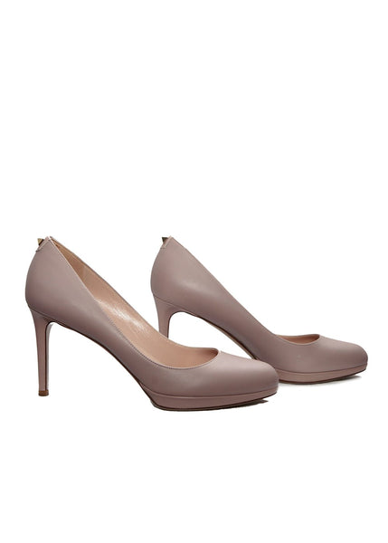 Pale lilac Valentino pumps