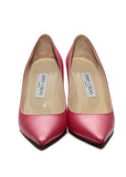 front view of Jimmy Choo straight toe pumps