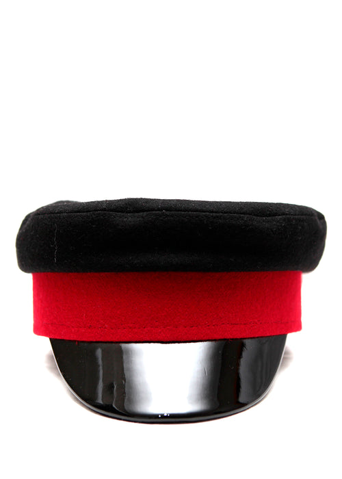 Red & Black Cap