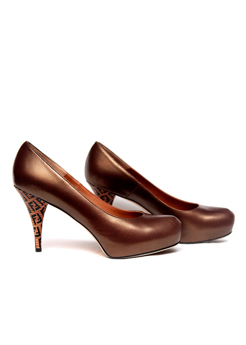 Bronze Colored Pumps