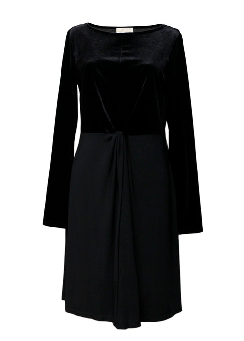 Luxury MICHAEL KORS Black Velvet Dress