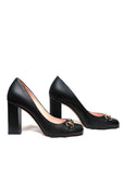 Gucci Black Round Toe Pumps