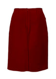Dark red skirt