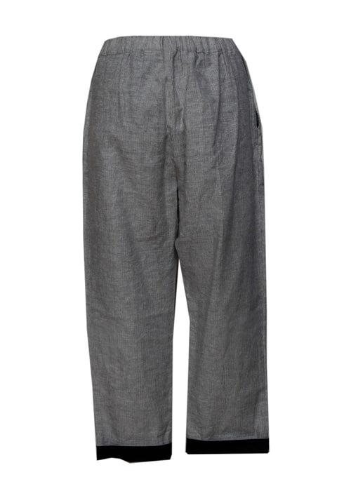 Grey Banana Pants