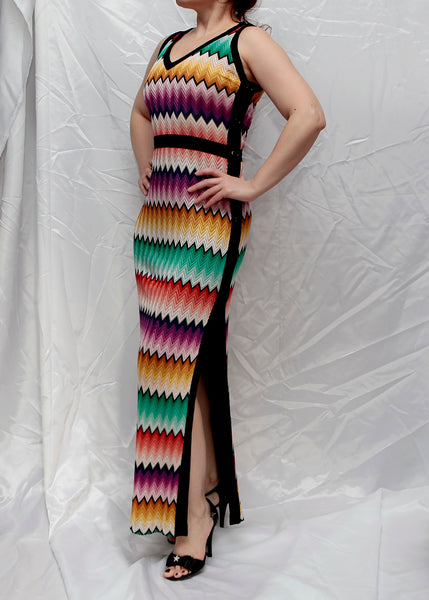 MISSONI dress with buttons on the side