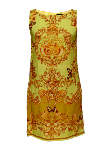 Versace sleeveless silk dress