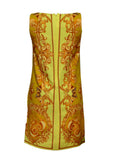 Versace signature silk dress