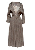 Palmer Harding linen striped dress