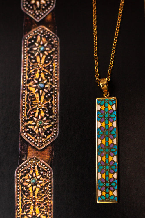 Shamsa Khan Sarayi necklace in gold