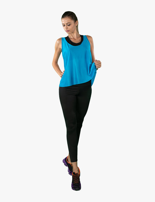 Blue Tank Top by Azerbaijan designer