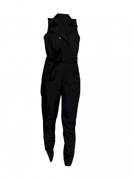 Luxury LOUIS VUITTON Black Jumpsuit