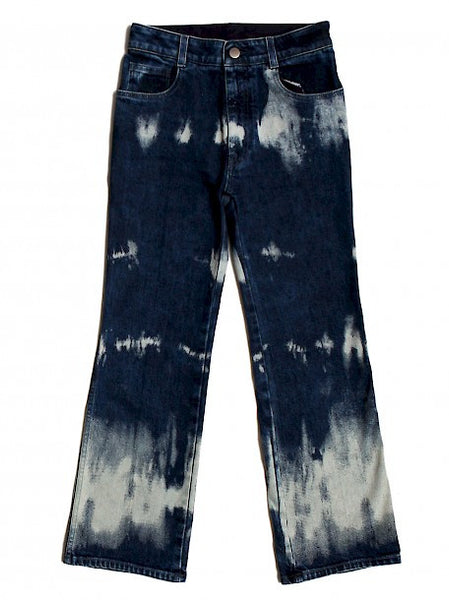 full view of Luxury STELLA MCCARTNEY Flared Blue Jeans