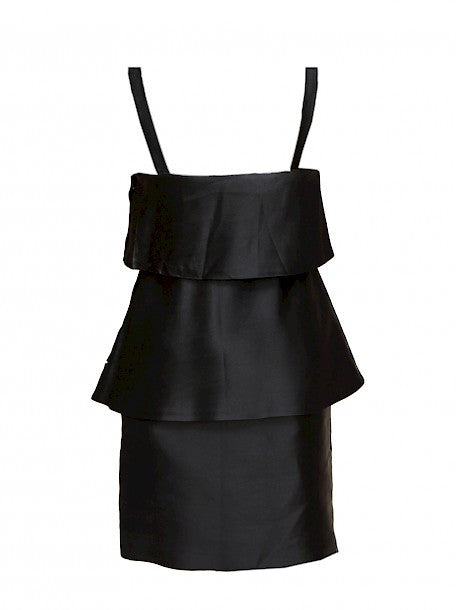 Luxury MOSCHINO Black Dress