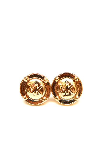 Luxury MICHAEL KORS Earrings with Monograms