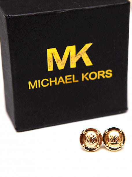 packaging of Luxury MICHAEL KORS Earrings with Monograms