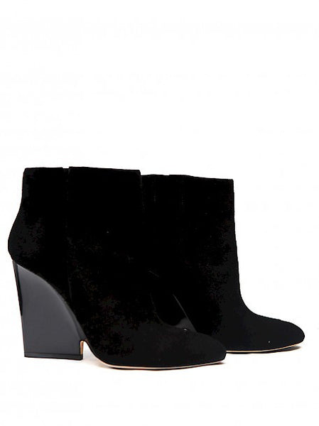 Luxury JIMMY CHOO Black Ankle Boots