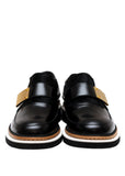 Pre owned ALEXANDER MCQUEEN Black pony leather shoes