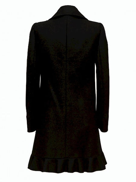 Pre owned RED VALENTINO Black Woolen Coat