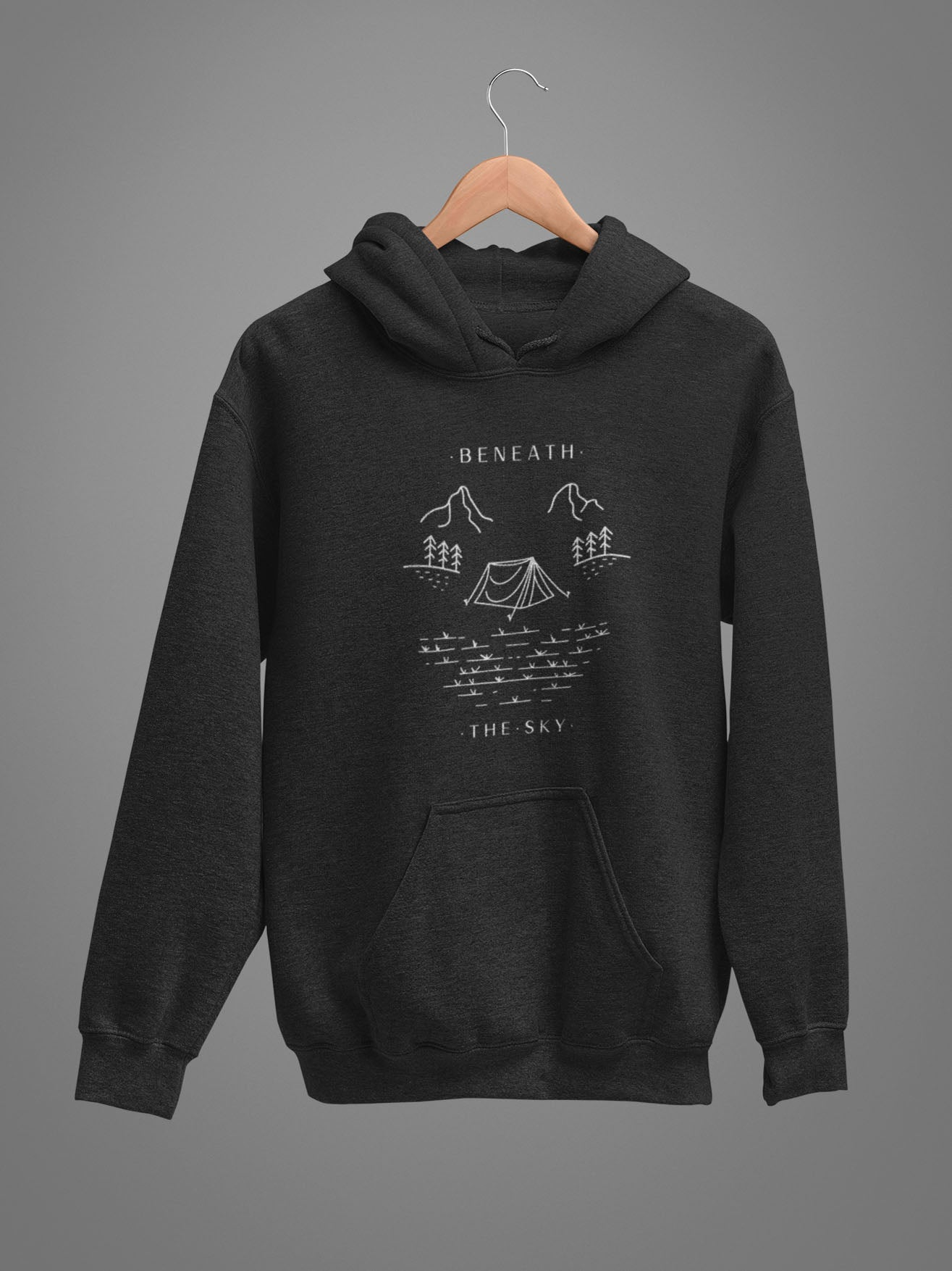 Beneath The Sky Unisex Hoodie