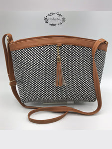 Cotton regular sling bag -BG11