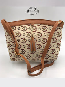 Cotton regular sling bag -BG12