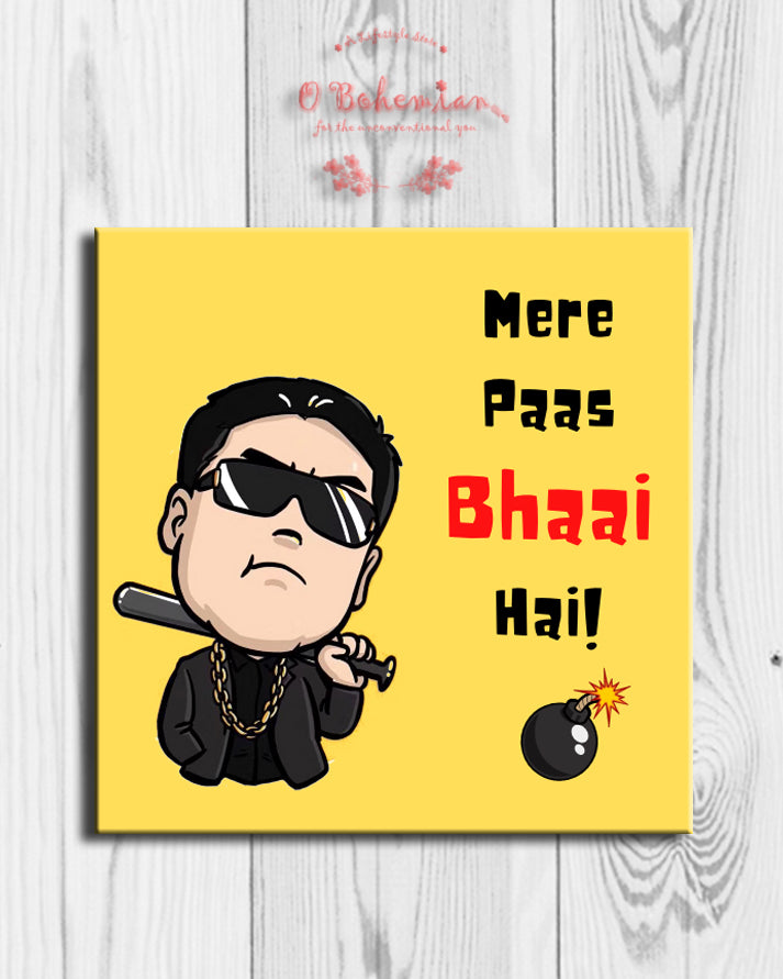 'Bhaai' Fridge Magnet