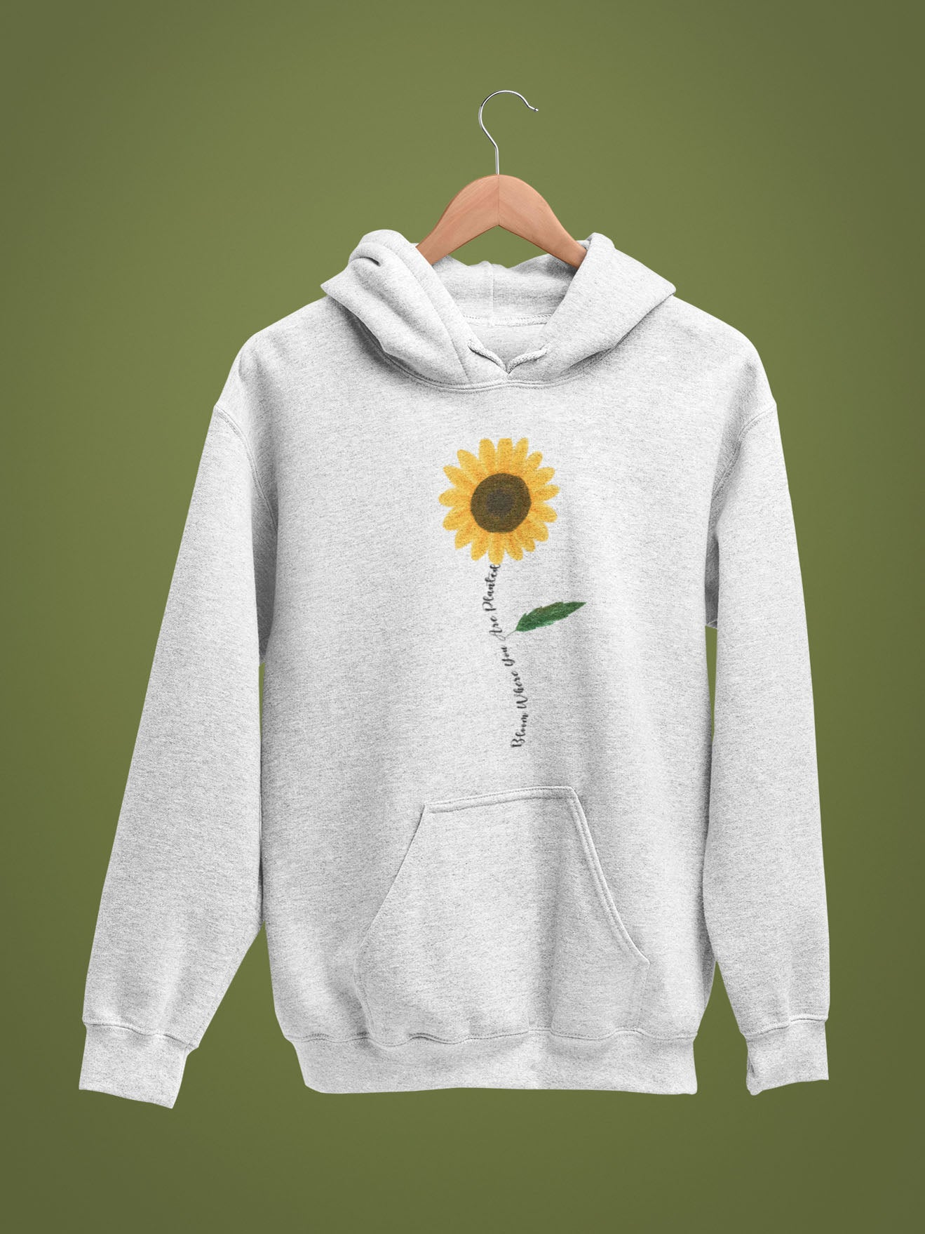 Bloom Where You Are Planted Unisex Hoodie