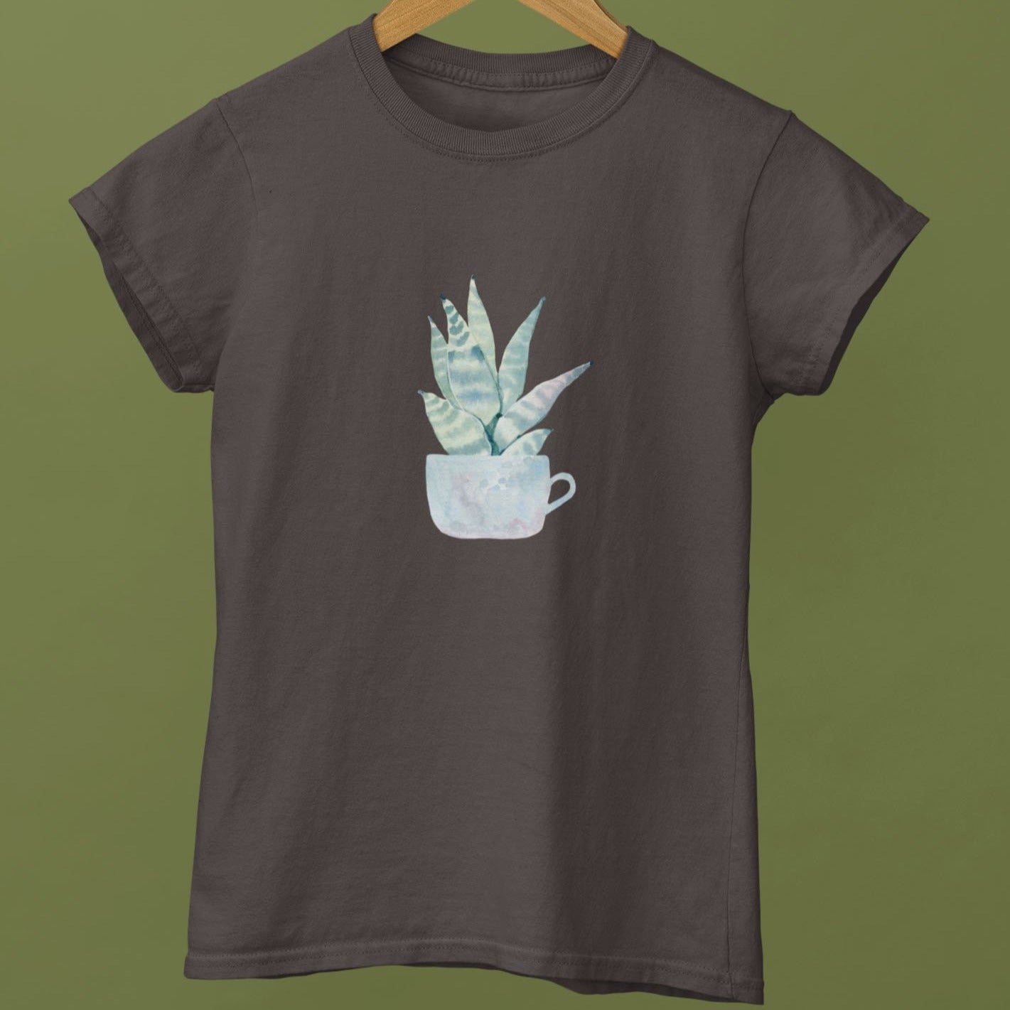 Cactus in Water Colour Women's T-Shirt