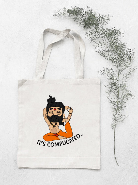Its Complicated Cotton Tote Bag