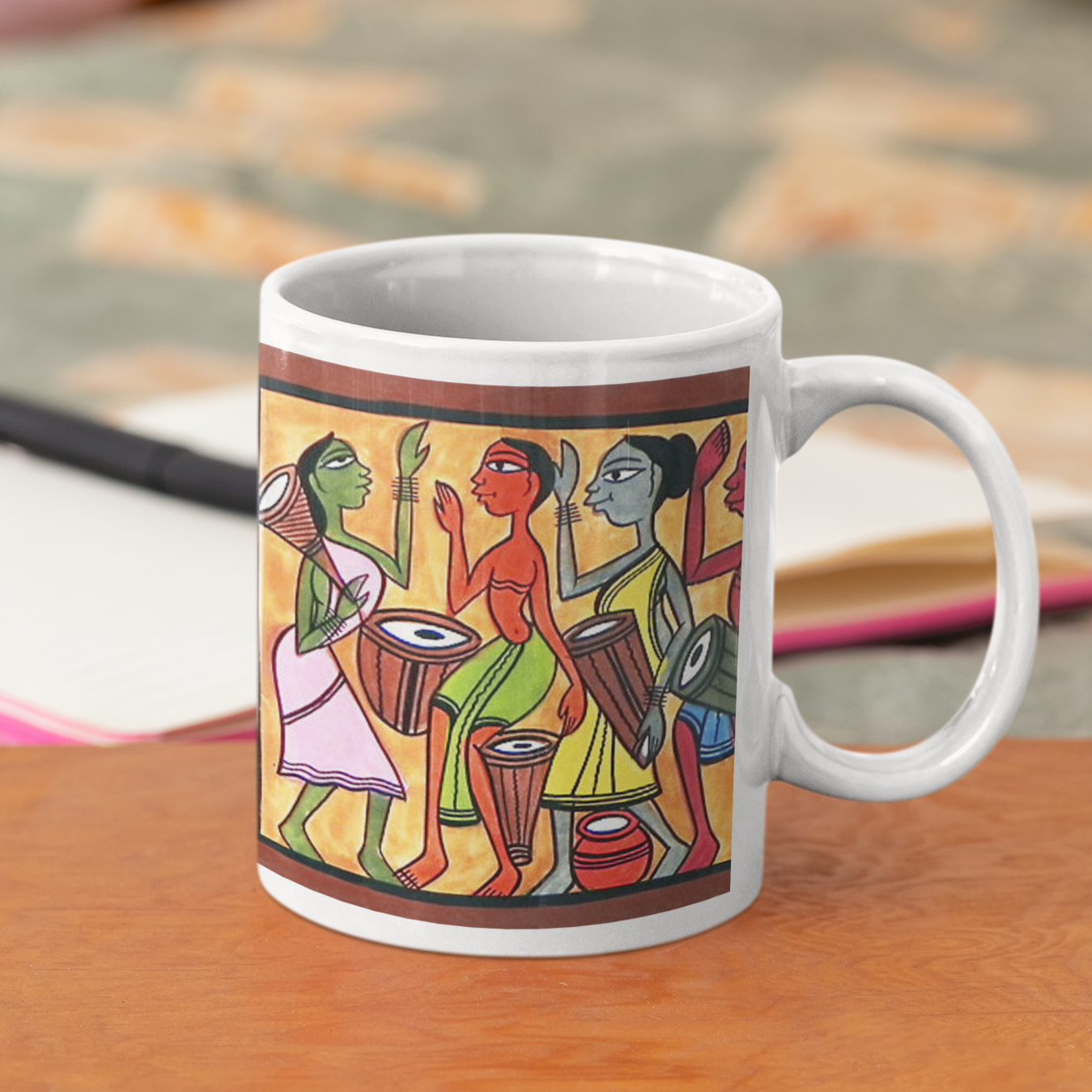 Patachitra Coffee Mug