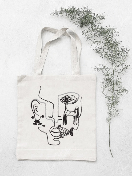 Perceptions Cotton Tote Bag