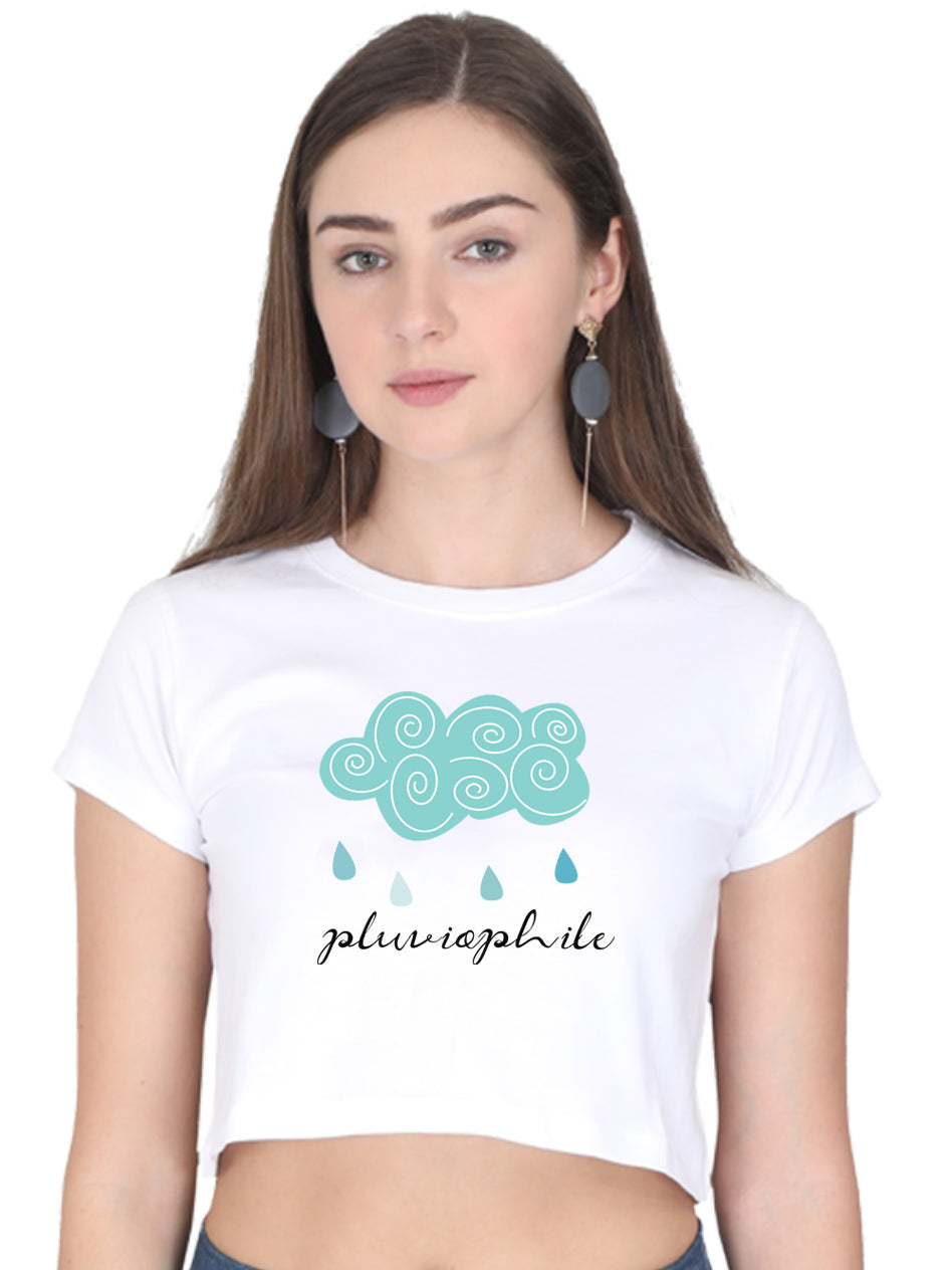 Pluviophile Crop Top