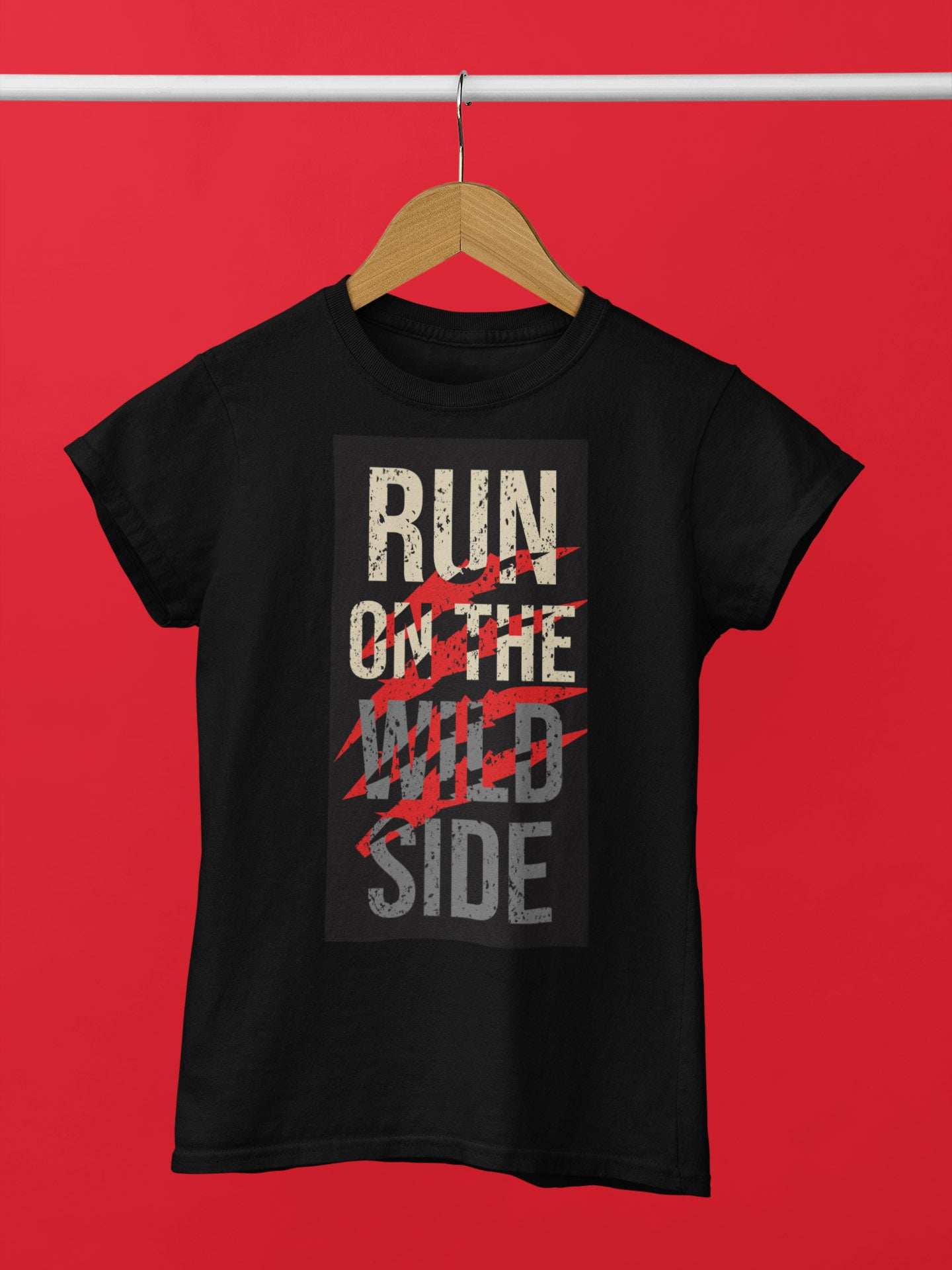 Run On The Wild Side Women's T-Shirt