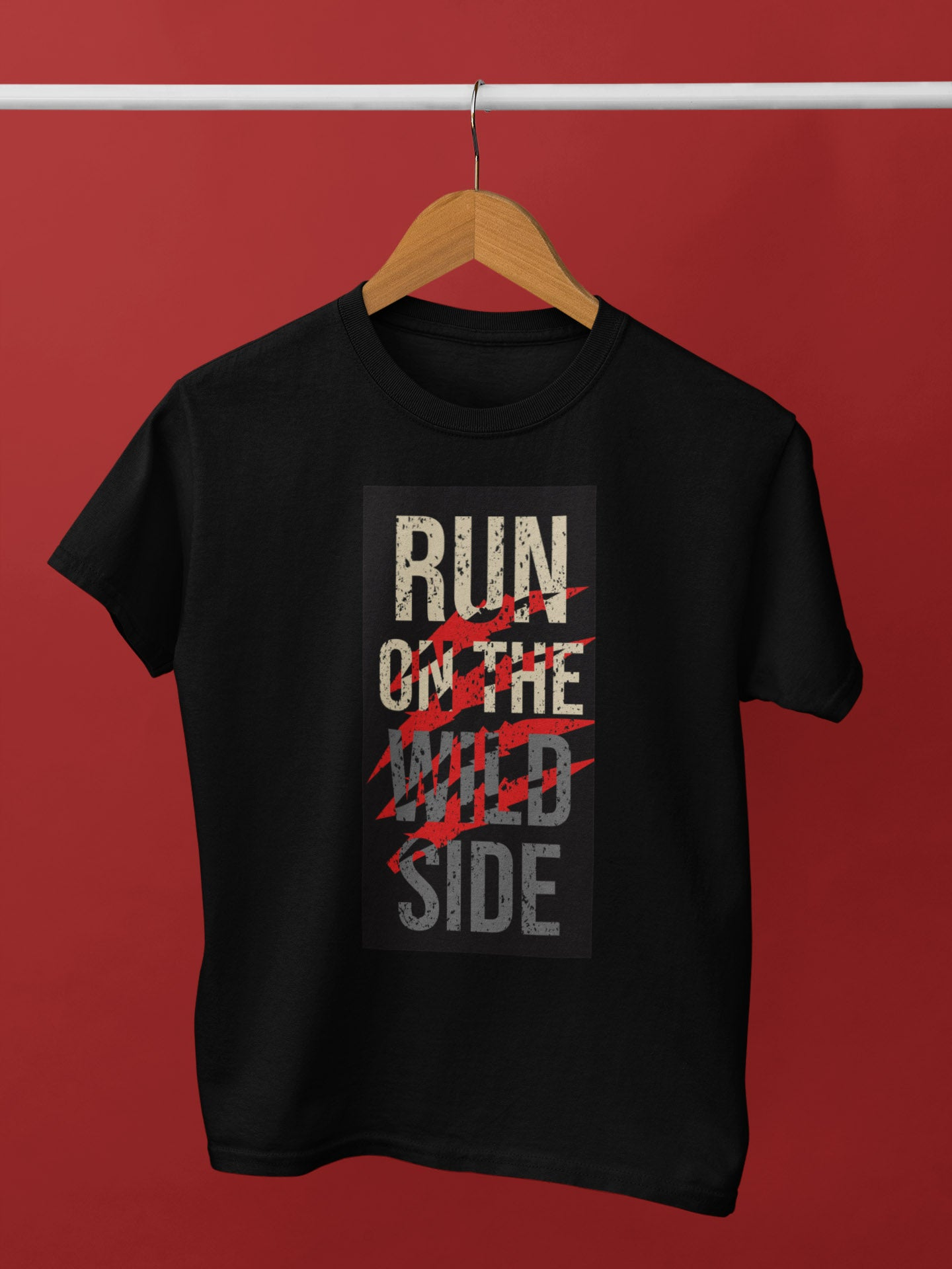 Run On The Wild Side Unisex T-Shirt