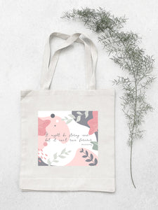 Stay Strong Cotton Tote Bag