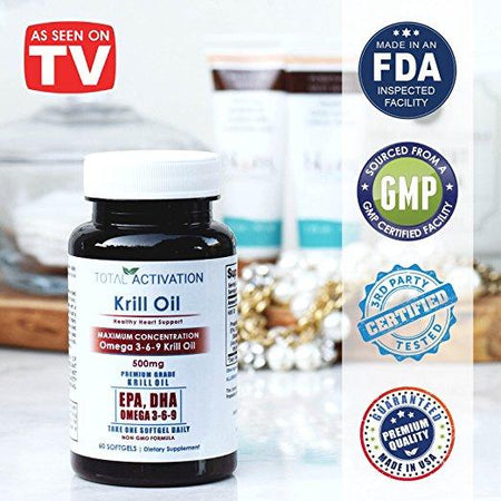 KRILL OIL (60 softgels)