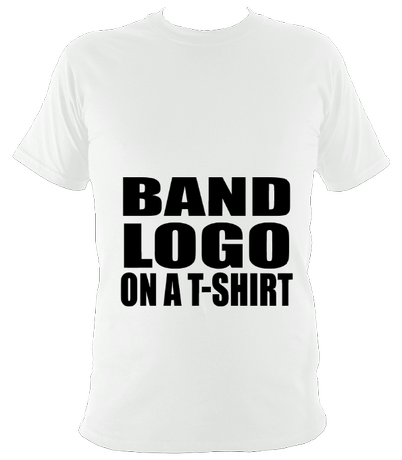 Band logo on a t-shirt unisex t-shirt
